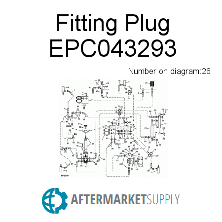 Fitting Plug - EPC043293