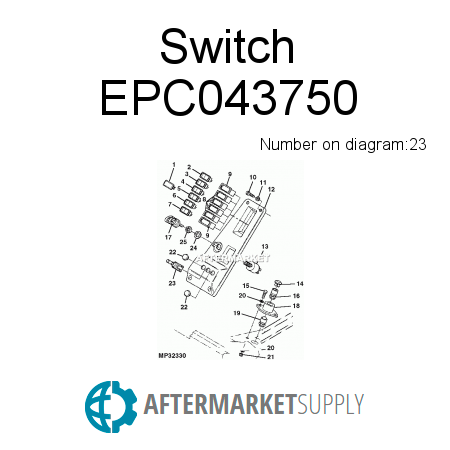 Switch EPC043750