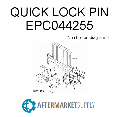 QUICK LOCK PIN - EPC044255