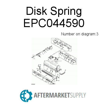 Disk Spring - EPC044590