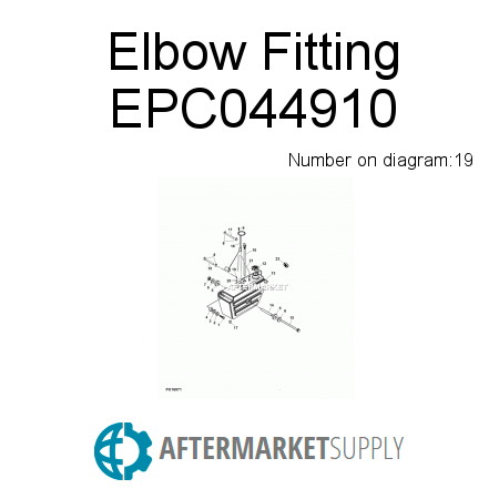 Elbow Fitting - EPC044910