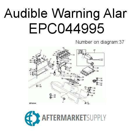 Audible Warning Alar EPC044995