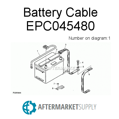 Battery Cable - EPC045480