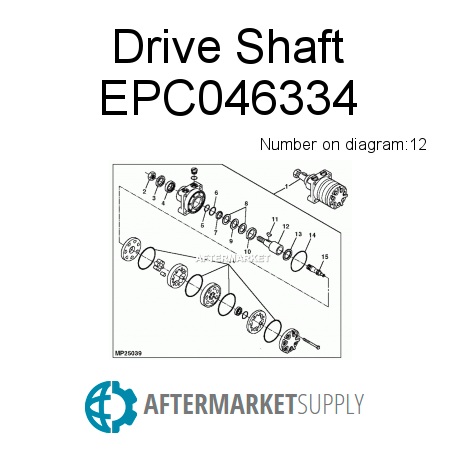 Drive Shaft EPC046334