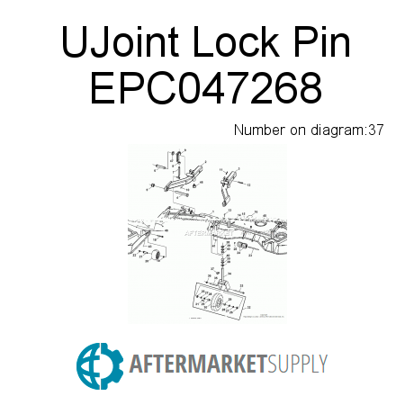 UJoint Lock Pin - EPC047268