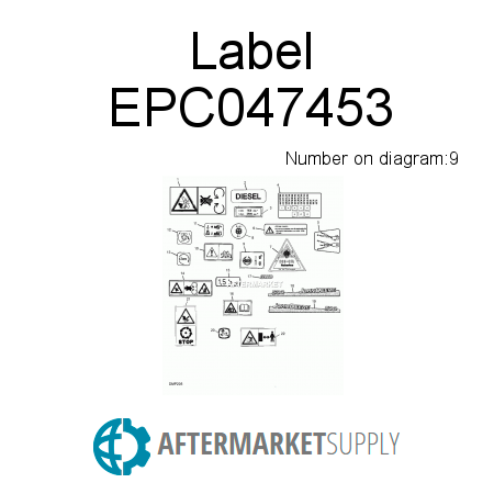 Label - EPC047453