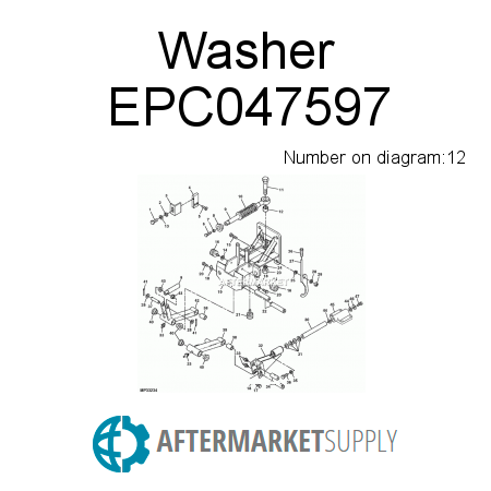 Washer EPC047597