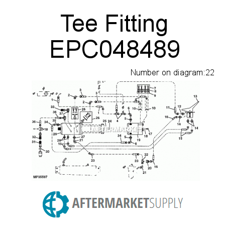 Tee Fitting - EPC048489