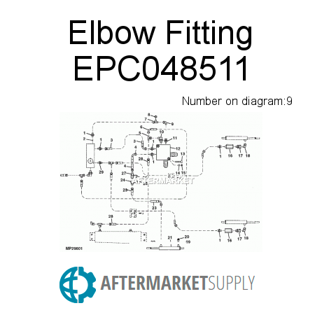 Elbow Fitting EPC048511