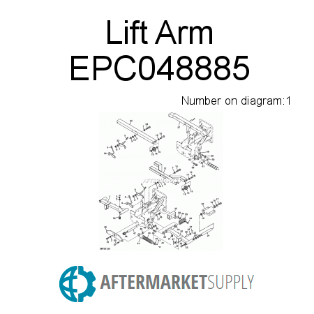 Lift Arm - EPC048885