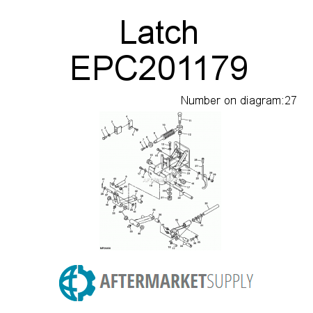 Latch - EPC201179