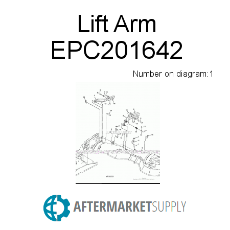 Lift Arm - EPC201642