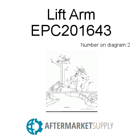 Lift Arm - EPC201643