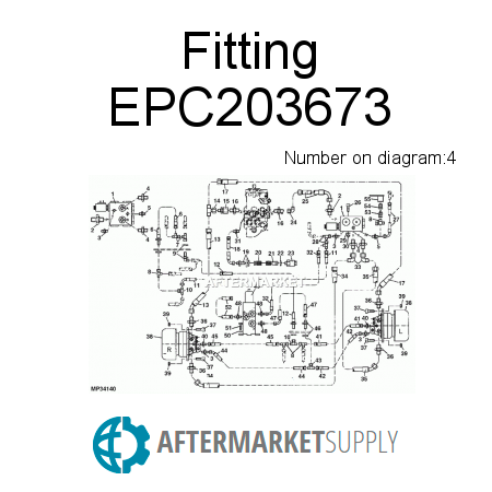 Fitting EPC203673