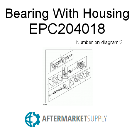 Bearing With Housing EPC204018