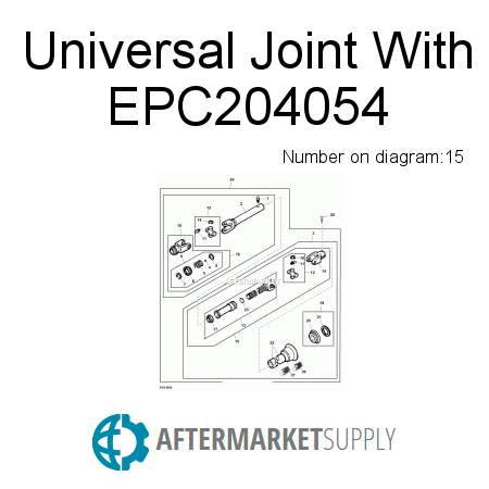 Universal Joint With - EPC204054