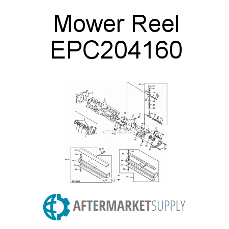 Mower Reel - EPC204160