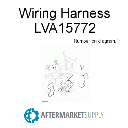 Lva15772 on wiring harness quote