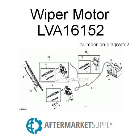 Wiper motor power supply generator power supply wiring for Wiper motor power supply