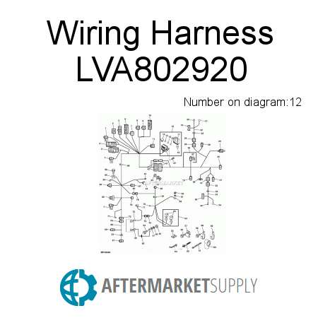 wiring harness cost model with Lva802932 on Tractor Belt Pulley further M803804 in addition Jaguar S Type Engine Wiring Diagram further E62154 further Wiring Harness Repair Cost.