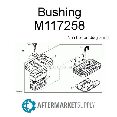 M117355 in addition M122711 in addition 59 further Eztrak in addition  on john deere 80 garden cart