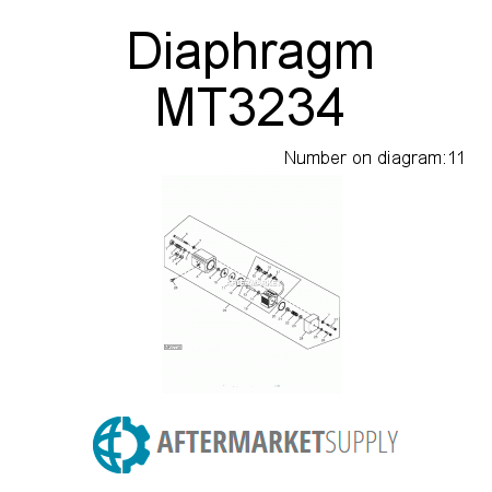 MT3234 - Diaphragm