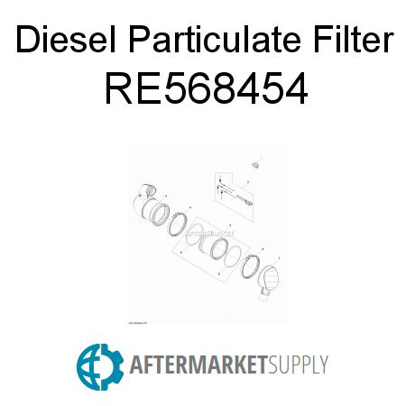 RE568454 - Diesel Particulate Filter