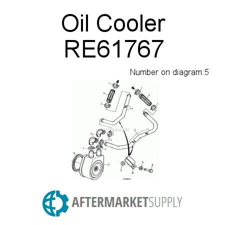 RE61767 - Oil Cooler