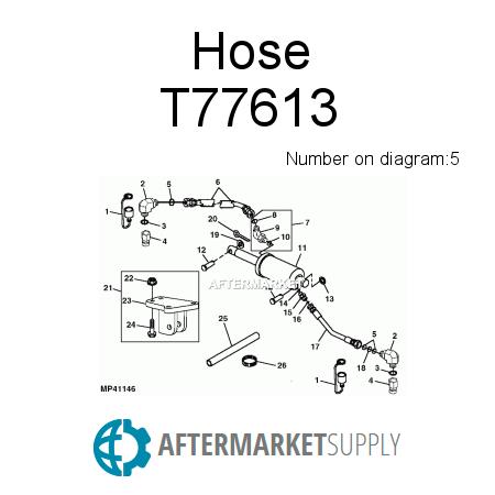 T77613 - Hose