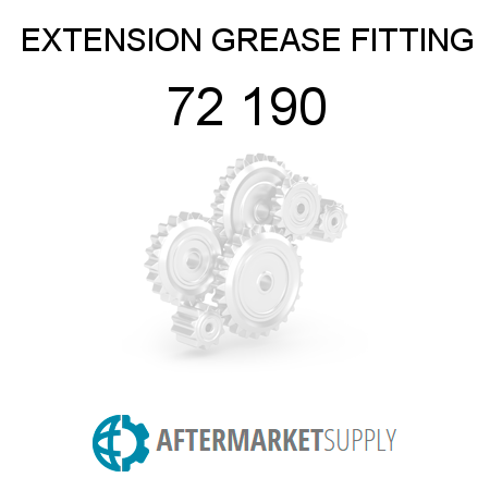 72 190 - EXTENSION, GREASE FITTING